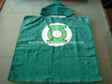 100% coton Green Lantern Poncho serviette robe de chambre de bébé /