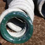 Arame galvanizado em PVC / Arame de aço para revestimento plástico