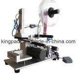 Máquina de etiquetado plana semiautomática de la botella