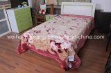 한국 Warp Knitted Raschel Mink 100%Acrylic Blanket