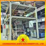 Cadena de producción no tejida de Spunbond con la plataforma de acero
