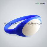 Wristbands convenientes do silicone NFC/RFID da forma
