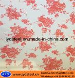 Катушка картины цветка покрынная цветом стальная