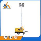 企業8kwタワーライトディーゼル発電機