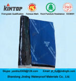 Het dwars-gelamineerde HDPE Zelfklevende Waterdichte Membraan van het Bitumen