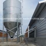 La volaille chaude de Gavanized renferment le silo pour la mémoire d'alimentation