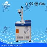 Máquina de gravura de marcação de laser de fibra para gravar chapa de metal