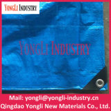 Всепогодным водоустойчивым голубым сплетенный PE шатер ткани