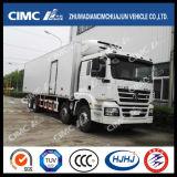 고품질 Cimc Huajun 8*4에 의하여 냉장되는 트럭