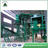 Basura a la planta de reciclaje urbana de basura municipal de la planta de clasificación inútil de la energía