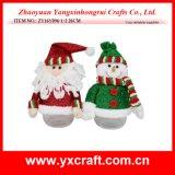 Decoração da rua do Natal dos artigos do Natal da decoração do Natal (ZY16Y110-1-2 36CM)