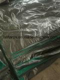 Light-Duty 녹색 회색 PE 방수포 덮개, PE Tarps