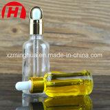 Frasco de petróleo essencial do vidro de 1 onça & de 2 onças