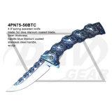 """4.8"""" Spring Green Cuchillo Fantasy Asistente con la hoja de acero (4PN75-50BKN)"""