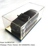 Boîte de présentation acrylique claire faite sur commande