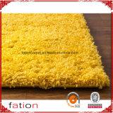 Ruwharige Tapijt van de Deken van het Gebied van de Woonkamer & van de Slaapkamer van de Deken van het pluizig laken het Stevige Gele 5*8