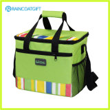 Alimento Use Polyester Insulated Lunch Cooler Bag com Front Pocket