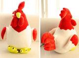 Poulets de jouet bourrés par peluche molle animale de jouet d'année neuve de la Chine