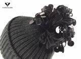 Шлем 2017 стильным Sequins связанный Pompom