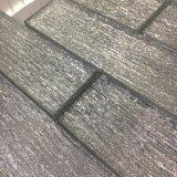 El azulejo gris cristalino más nuevo del ladrillo de cristal para la decoración de la pared