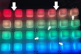 レーザーの伸縮性があるゴム製バックライトを当てられたシリコーンのキーパッド