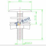 Штепсельная вилка тазика санитарных изделий декоративные/крышка (T1035)