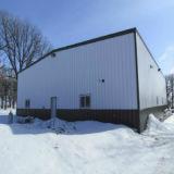 Casa do aço estrutural para a aplicação comercial