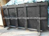 鉛ガラスを保護する放射線防護のX線