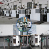 Four à induction de fréquence moyenne pour l'acier de fonte de fer de rebut