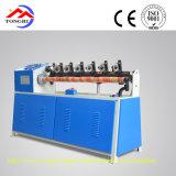 安全な、信頼できるQgj-98は螺線形のペーパー管のためのカッター機械を明確にする
