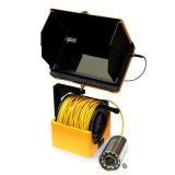 Het draagbare Systeem van de Camera van de Inspectie van de Schoorsteen met de Monitor DVR van 7 Duim de Kabel van 65 Voet met de Schacht van de Spoel