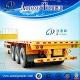 マルチ車軸40t/45t販売(LAT9390P)のための平面容器のトレーラー