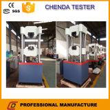 Использование машины испытание прочности на растяжение Waw 600d в лаборатории конструкции