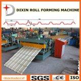 El metal artesona la azotea que forma la máquina