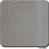 Tsautop populaires de la vente de 0,5 m/1m de largeur d'impression Transfert d'eau en fibre de carbone Films Film hydrographique Aqua Tstn741 d'impression