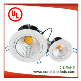 6 Вт/30W с регулируемой яркостью ослепительно белый регулируемый початков светодиодная подсветка