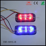Liner3 CE Approval LED Warning Lights in Red Blue Color
