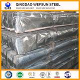 Лист Courrgated высокого качества алюминиевый стальной для толя и здания (Q195-235)