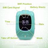 0.96 '' vigilanze dell'inseguitore di GPS dei bambini di OLED con GPS+Lbs+WiFi H3