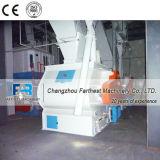 Estabilizador de la maquinaria de procesamiento de alimentación de camarón con enfriador de contraflujo