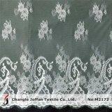 По-французски тюль кружевной ткани для свадебных платьев (M2172)