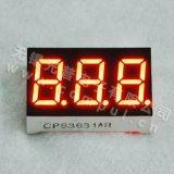 Cps03631arの0.36インチ3ディジット7の区分のLED表示