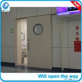 Droit d'ouvrir la porte hermétique automatique avec fenêtre