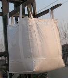 Weißer Querwinkel-blauer Riemen-grosser Tonnen-Masse-Beutel