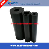 Lamiera sottile di gomma industriale del nero NR, lamiera sottile nera industriale della gomma naturale