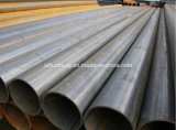ASTM A53 Gr. B ERWの鋼管Sch20 Sch40のASTM A106/A53 ERWの管の黒のコーティングDn80 Dn100 Dn150