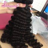 Hochwertige Jungfrau-brasilianisches Haar-Extensions-Menschenhaar des Grad-8A
