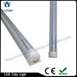 V forme MARCHE LED Éclairage de la porte du refroidisseur, UL 8FT 60W T8 Tube LED Luminaire LED super brillant Shop Lumière