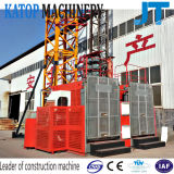 高品質Sc100/100の販売のための二重ケージの建築構造のエレベーター