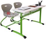 2015 최신 판매 학교 가구 교실 분리가능한 두 배 학생 Desk&Chair